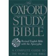 The Oxford Study Bible:...,Bible,9780195290004
