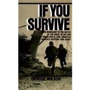 If You Survive,WILSON, GEORGE,9780804100038