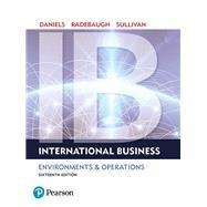 International Business,Daniels, John; Radebaugh,...,9780134200057