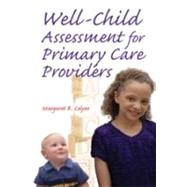 Well-Child Assessment for...,Colyar, Margaret R.,9780803610057