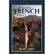Workbook in French: First Year by Blume, Eli, 9781531130077