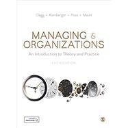 Managing & Organizations,Clegg, Stewart R.;...,9781526460103