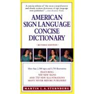 American Sign Language Concise Dictionary by Sternberg, Martin L. A., 9780062740106