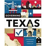 Governing Texas,Champagne, Anthony; Harpham,...,9780393680119