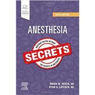 Duke's Anesthesia Secrets,Keech, Brian M.; Laterza,...,9780323640152