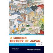 A Modern History of Japan...,Gordon, Andrew,9780199930159
