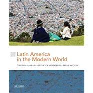 Latin America in the Modern...,Garrard, Virginia; Henderson,...,9780199340224