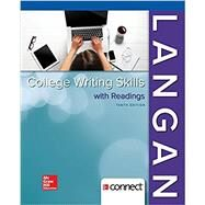Loose Leaf for College Writing Skills with Readings by Langan, John; Albright, Zoe, 9781260030228