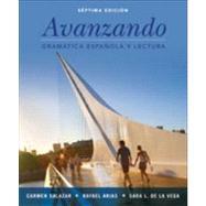 Avanzando: Spanish Grammar & Reading by Salazar, Carmen; Arias, Rafael; de la Vega, Sara L., 9781118280232