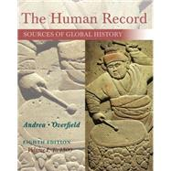 The Human Record Sources of...,Andrea, Alfred J.; Overfield,...,9781285870236