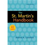 The St. Martin's Handbook...,Lunsford, Andrea A.,9781319120269