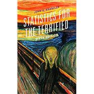 Statistics for the Terrified,Kranzler, John H.,9781538100288