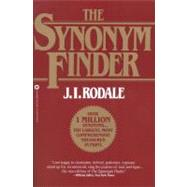 The Synonym Finder,Rodale, J. I.; Urdang,...,9780446370295