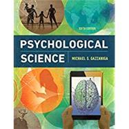 Psychological Science w/...,Gazzaniga, Michael,9780393640342