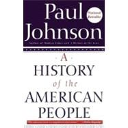 A History of the American...,Johnson, Paul,9780060930349