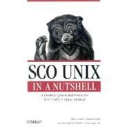 Sco Unix in a Nutshell by Cutler, Ellie, 9781565920378