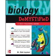 Biology Demystified,Layman, Dale,9780071410403