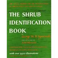 Shrub Identification Book,Symonds, George W. D.,9780688050405