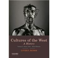 Cultures of the West A...,Backman, Clifford R.,9780190070434