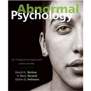 Abnormal Psychology An...,Barlow, David H.; Durand, V....,9781305950443