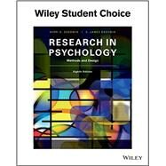 Research In Psychology...,Goodwin,9781119330448