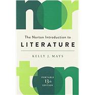The Norton Introduction to Literature by Mays, Kelly J., 9780393420463