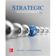 Strategic Management,Rothaermel, Frank,9781259420474