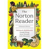 The Norton Reader (Fifteenth...,Goldthwaite, Melissa; Bizup,...,9780393420524