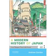 A Modern History of Japan...,Gordon, Andrew,9780190920555