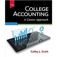 College Accounting: A Career...,Cathy J. Scott,9781337280563