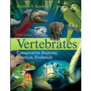 Vertebrates : Comparative...,Kardong, Kenneth,9780073040585
