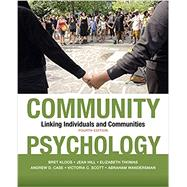 Community Psychology,Kloos, Bret; Hill, Jean;...,9781433830594
