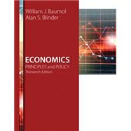 Economics Principles and...,Baumol, William J.; Blinder,...,9781305280595