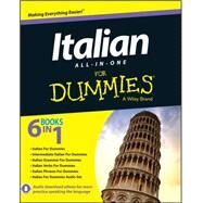 Italian All-in-One For Dummies, with CD by Unknown, 9781118510605