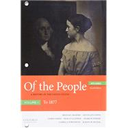 Of the People A History of...,McGerr, Michael; Lewis, Jan...,9780190910624