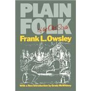 Plain Folk of the Old South by Owsley, Frank Lawrence, Jr., 9780807110638