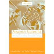 Research Stories for...,Duntley, Joshua R.; Shaffer,...,9780205520657