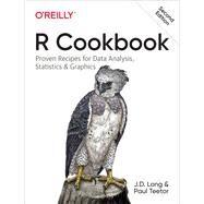 R Cookbook by Long, J. D.; Teetor, Paul, 9781492040682