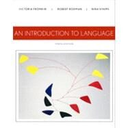 An Introduction to Language,Fromkin, Victoria; Rodman,...,9781133310686