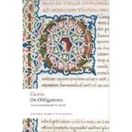 On Obligations De Officiis,Cicero; Walsh, P. G.,9780199540716