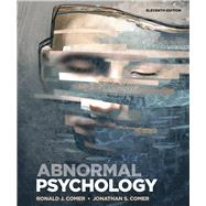 Abnormal Psychology,Comer, Ronald J.; Comer,...,9781319190729