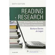 Reading Research,Davies, Barbara, Rn, Ph.D.;...,9781771720731