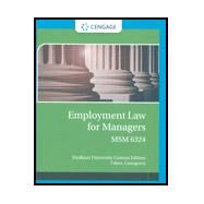 Employment Law for Managers MSM 6324 (Faulkner University) by Castagnera Cihon, 9781337930765