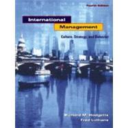 International Management :...,Hodgett, Richard M.,9780072430776