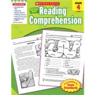 Scholastic Success with Reading Comprehension, Grade 4 by Scholastic; Scholastic, 9780545200813