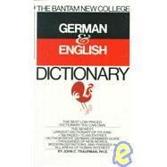 The Bantam New College German...,TRAUPMAN, JOHN,9780553280883
