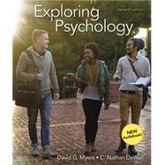 Exploring Psychology &...,Myers, David G.; Dewall, C....,9781319280901