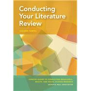 Conducting Your Literature Review by Hempel, Susanne, 9781433830921