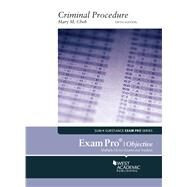 Exam Pro on Criminal Procedure (Objective) by Cheh, Mary M., 9781647080945