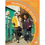Foundations of Education,Ornstein, Allan C.; Levine,...,9781305500983